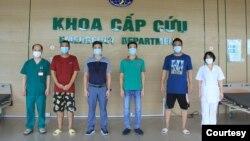 ကုိဗစ္ ေပ်ာက္ကင္းသူ(၄)ဦးထဲမွာ ျမန္မာ(၂)ဦးလည္း ပါဝင္ (ဓါတ္ပံု the National Hospital for Tropical Diseases in Hanoi )