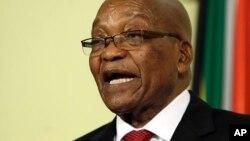 Tsohon shugaban Afirka ta Kudu, Jacob Zuma