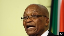 Rais wa zamani Jacob Zuma