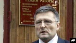 Адвокат матери Сергея Магнитского Николай Горохов