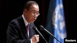 Sekjen PBB Ban Ki-moon akan mengunjungi Nigeria (foto: dok).