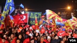 SDSM Skopje rally december 2016