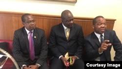 VaMthuli Ncube, VaGeorge Guramatanga munyori mukuru mubazi rezvemari uye Doctor John Mangudya