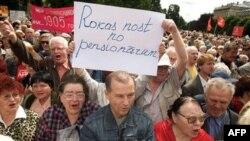 Латвийцы отправляют депутатов восвояси