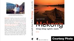 Bìa sách 'Dòng sông nghẽn mạch' của nhà văn Ngô Thế Vinh