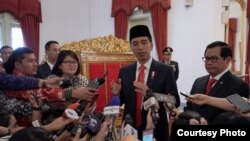 Presiden Joko Widodo di Istana Negara, Jakarta, Selasa, 20 Februari 2018. (Foto Courtesy:Biro Pers Istana)