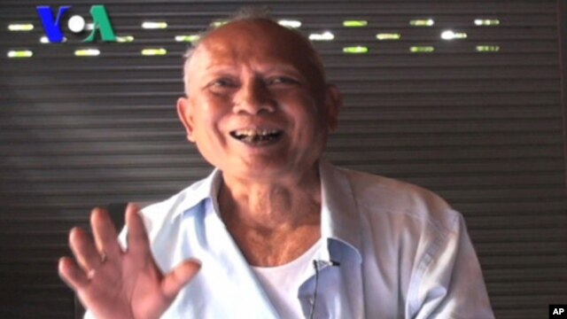 Meas Muth, 71, is a former member of the Khmer Rouge regime's central committee. In an interview in July, he told VOA Khmer any accusations against him were not legal under the rules of the court. He said that the court should not try more than the five K