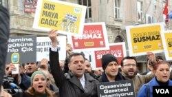 Daxwazên Azadiya Rojnamegeriyê li Tirkiyê