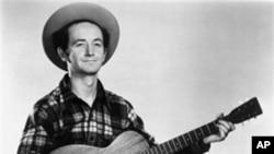 미국 포크 음악의 거장 우디 거스리(Woody Guthrie)