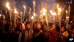 ການຂປະທ້ວງຢູ່ Dhaka ກ່ຽວກັບຄະດີຂອງ ທ່ານ Mollah