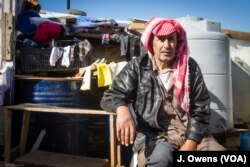 Redwan al Omar fled Aleppo in Syria for Lebanon more than two years ago. A sufferer of diabetes, he despairs of the coming winter.