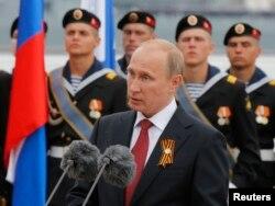 俄罗斯总统普京在胜利日讲话(2014年5月9日)