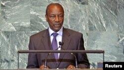 Presiden Guinea Alpha Conde berjanji untuk melanjutkan perang melawan korupsi, pasca terbunuhnya kepala keuangan negara itu (Foto: dok).