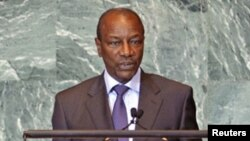 Le président Alpha Condé à l'ONU (archives)