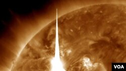 Meski sempat dikhawatirkan menimbulkan banyak gangguan, badai matahari ternyata hampir tidak berdampak bagi bumi.