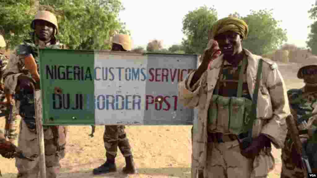 Sojojin hadin gwiwar da ke yaki da Boko Haram a Diffa, jamhuriyar Nijar.