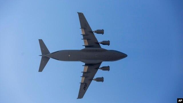 هواپیمای C-۱۷ ارتش آمریکا - آرشیو