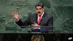 Presidente Nicolás Maduro na 73ª Sessão da Assembleia Geral das Nações Unidas. Set. 26, 2018,