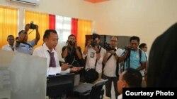 Peresmian kantor LTSA P2TKI di Kupang (Foto: Dr Reyna Usman)
