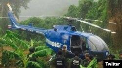 El helicóptero de la Policía Científica de Venezuela usado el martes en un incidente de rebelión militar fue encontrado el miércoles, informaron autoridades: