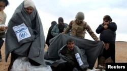 مشرقِ وسطیٰ کے ممالک میں سردی کی شدید لہر کے باعث شامی پناہ گزینوں کی مشکلات میں اضافہ ہوگیا ہے