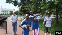 Los Globetrotters sorprenden en Washington