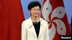 香港政务司司长林郑月娥