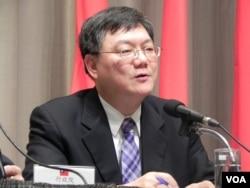 经济部长杜紫军(美国之音许波拍摄)