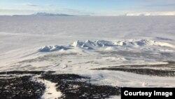 지난해 10월 남극 빙하 사진. (자료사진)