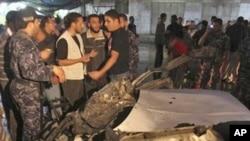 以色列空襲加沙地帶。