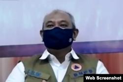 Deputi Bidang Pencegahan BNPB, Lilik Kurniawan. (Foto: VOA)