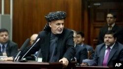 아슈라프 가니 아프가니스탄 대통령 (자료사진)