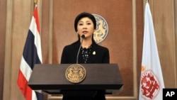 Pemerintahan PM Yingluck Shinawatra tetap akan melaksanakan pemilu tanggal 2 Februari mendatang (foto: dok).