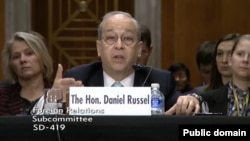 FILE - Assistant Secretary of State Daniel Russel.