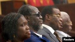Des responsables du FPI lors du procès de Simone Gbagbo
