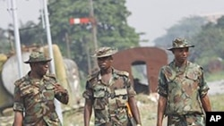 Nigerian soldiers (File photo)