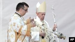 Папа Римский Франциск в Румынии. 2 июня 2019 г.