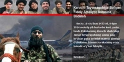 O'zbek jangarilar- Pokiston-Ahmed Rashid - Navbahor Imamova