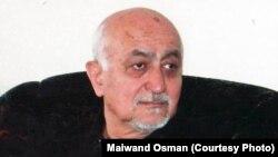 اکرم عثمان دکلمه کننده و داستان سرای مشهور افغانستان