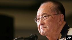 Sen. Daniel Inouye, Nov. 6, 2012
