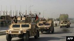 Avganistanske snag bezbednosti vraćaju se sa poprišta sukoba sa talibanskim ekstremistima u Kabulu