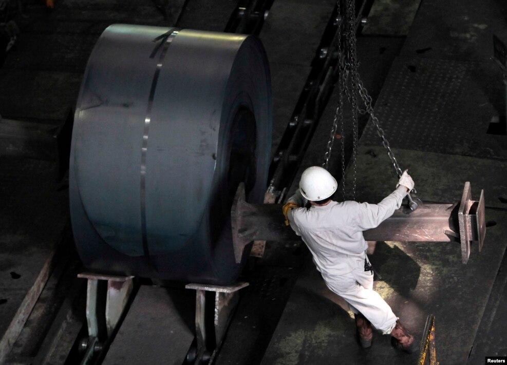Gần 20% công nhân ngành thép ở Trung Quốc có thể sẽ bị sa thải.