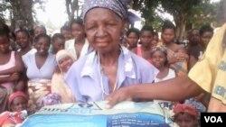 Distribuição de redes mosquiteiras em Nampula