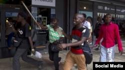 Scène de xénophobie en Afrique