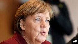 Şêwirmenda Almaniya Angela Merkel