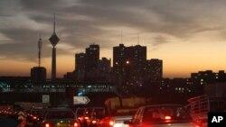 Panorama Teherana (arhivski snimak)