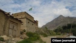 پاک افغان سرحد پر واقع ایک پاکستانی چوکی