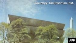 Buduća zgrada Muzeja afroameričke kulture i istorije