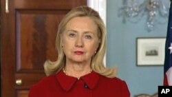 Sakatariyar Harakokin wajen Amurka, Hillary Clinton