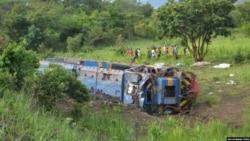Au moins 50 morts dans le déraillement d'un train au Tanganyika